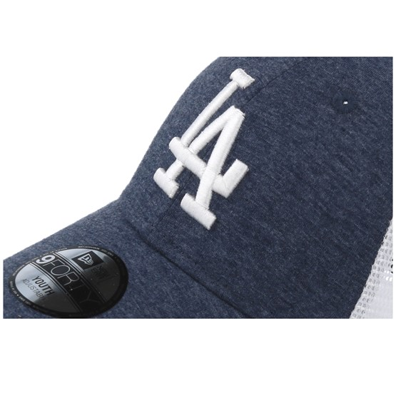 finest selection 3825c 8e53a Kids Los Angeles Dodgers Summer League 9Forty Navy White Trucker - New Era  caps - Hatstoreworld.com