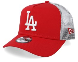Kids Los Angeles Dodgers League Essential Red/White Trucker - New Era