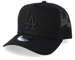 Kids Los Angeles Dodgers League Essential Black/Black Trucker - New Era