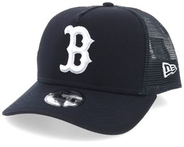Kids Boston Red Sox League Essential Dark Navy/White Trucker - New Era