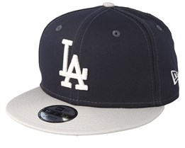 Kids Los Angeles Dodgers League Essential 9Fifty Dark Grey/Light Grey Snapback - New Era