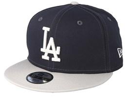 Kids Los Angeles Dodgers League Essential 9Fifty Dark Grey/Light Grey Snapback - New Era