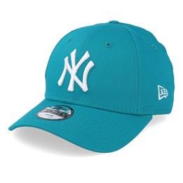 0bb529e4d0e7d New Era Kids New York Yankees League Essential 9Forty Teal/White Adjustable  - New Era 19,99 €