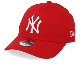 super popular d7e6f 14ecf Kids New York Yankees League Essential 9Forty Red White Adjustable - New Era
