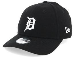Kids Detroit Tigers League Essential 9Forty Black/White Adjustable - New Era