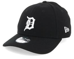info for af4cb bc856 Kids Detroit Tigers League Essential 9Forty Black White Adjustable - New Era