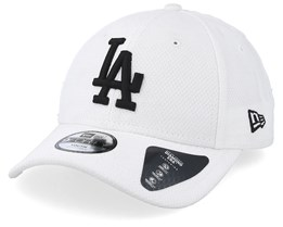 836aa730 Kids Los Angeles Dodgers Diamond Era 9Forty White/Black Adjustable - New Era
