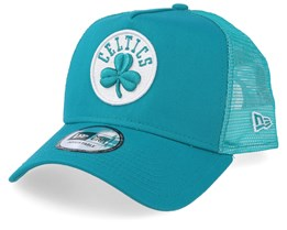 Boston Celtics Essential Teal/White Trucker - New Era