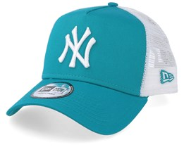 New York Yankees Essential Teal/White Trucker - New Era