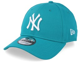 New York Yankees League Essential 9Forty Teal/White Adjustable - New Era
