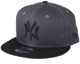 New York Yankees Essential 9Fifty Dark Grey/Black Snapback - New Era