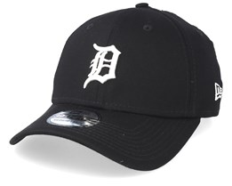 Detroit Tigers Essential 39Thirty Black/White Flexfit - New Era