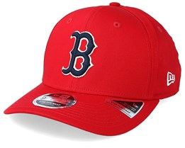 Boston Red Sox Stretch Snap 9Fifty Red Adjustable - New Era