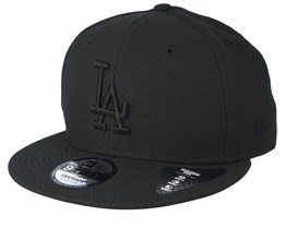 low priced b07b7 46398 Los Angeles Dodgers Diamond Era 9Fifty Black Black Snapback - New Era