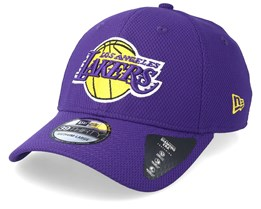 brand new e6586 7c717 LA Lakers Diamond Era 39Thirty Purple Yellow Snapback - New Era