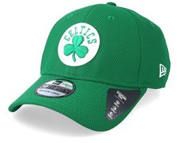 newest 7124b 3b54f Boston Celtics Diamond Era 39Thirty Green White Snapback - New Era