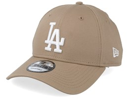 best website 70d61 32ad5 Los Angeles Dodgers League Essential 9Forty Camel White Adjustable - New Era