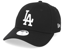 Los Angeles Dodgers Womens League Essential 9Forty Black/White Adjustable - New Era