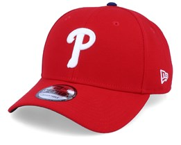 Philadelphia Phillies The League 9Forty Red Adjustable - New Era