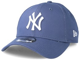 premium selection e4bf5 93e05 New York Yankees League Essential 9Forty Slate Grey White Adjustable - New  Era