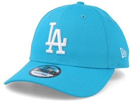 Los Angeles Dodgers League Essential 9Forty Teal/White Adjustable - New Era