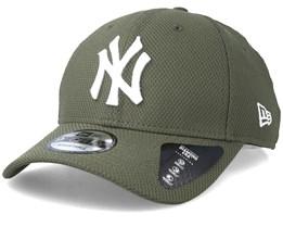 New York Yankees Diamond Era 9Forty Rifle Green/White Adjustable - New Era