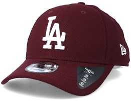quality design 53dce 68dd7 Los Angeles Dodgers Diamond Era 9Forty Maroon Adjustable - New Era