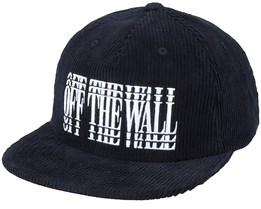 Lounging Shallow Unstructured Black/White Snapback - Vans