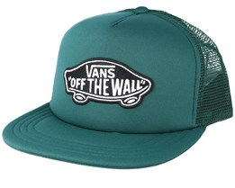 Classic Patch Forrest Green Trucker - Vans