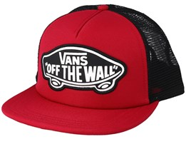 Beach Girl Red/Black Trucker - Vans