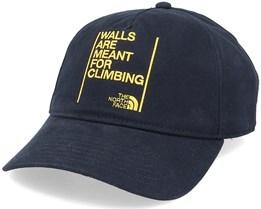 Walls Ball Cap Black Dad Cap - The North Face