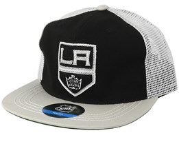 Kids Los Angeles Kings Black/Grey Trucker - Outerstuff