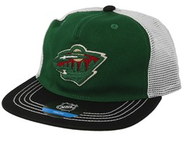 Kids Minnesota Wild Green/Black Trucker - Outerstuff