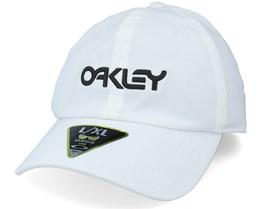 B1b Icon Ff Hat White Flexfit - Oakley
