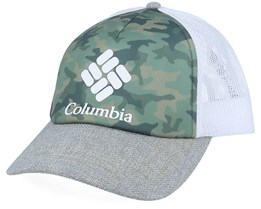 Mesh II Cypress Camo, Colm Grey, White Trucker - Columbia