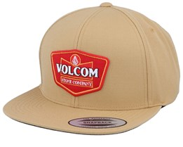Cresticle Dull Gold Snapback - Volcom
