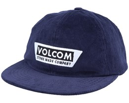 Decept Navy Snapback - Volcom