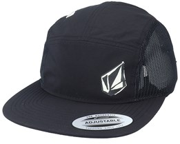 Stone Clipping Cheese Black 5-Panel - Volcom