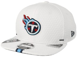 Tennessee Titans 9Fifty On Field 19 Training White Snapback - New Era
