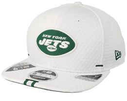 New York Jets 9Fifty On Field 19 Training White Snapback - New Era