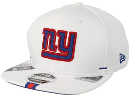 New York Giants 9Fifty On Field 19 Training White Snapback - New Era