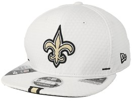 New Orleans Saints 9Fifty On Field 19 Training White Snapback - New Era