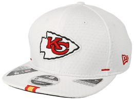 Kansas City Chiefs 9Fifty On Field 19 Training White Snapback - New Era