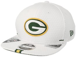 Green Bay Packers 9Fifty On Field 19 Training White Snapback - New Era