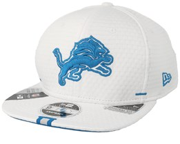 Detroit Lions 9Fifty On Field 19 Training White Snapback - New Era