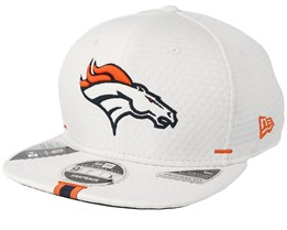 Denver Broncos 9Fifty On Field 19 Training White Snapback - New Era