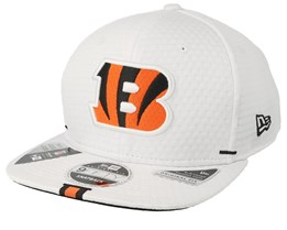 Cincinnati Bengals 9Fifty On Field 19 Training White Snapback - New Era