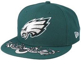 Philadelphia Eagles 9Fifty NFL Draft 2019 Green Snapback - New Era