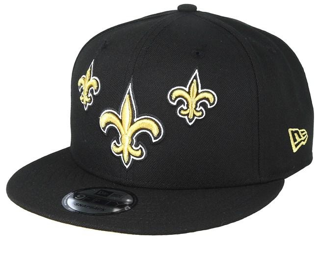 pretty nice 94662 e010d New Orleans Saints 9Fifty NFL Draft 2019 Black Snapback - New Era ...