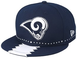 Los Angeles Rams 9Fifty NFL Draft 2019 Navy Snapback - New Era